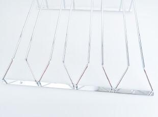 莱珍斯 4排碳钢倒挂式挂杯架 红酒架,杯子,