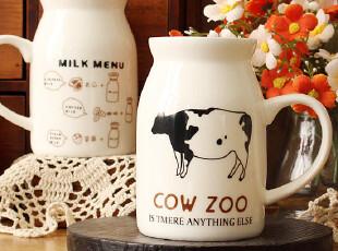 Breakfast cup 三款手把牛奶杯 早餐杯 zakka陶瓷杯子 马克杯,杯子,