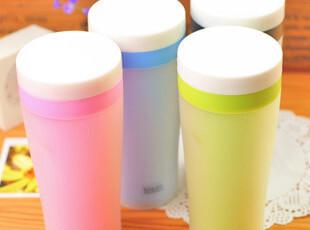 【满39包邮】日韩热卖 防漏水 杯子 随手杯/随心杯 磨砂糖果色,杯子,
