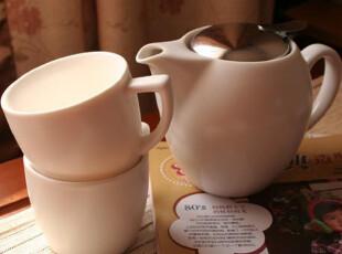 【精品陶瓷】简约风格茶具/茶壶/茶杯/简易茶组/一壶两杯,杯子,