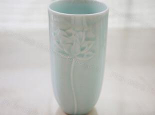 饰物志|青釉刻莲花 杯子 大容量单杯 手制瓷器 日用生活,杯子,