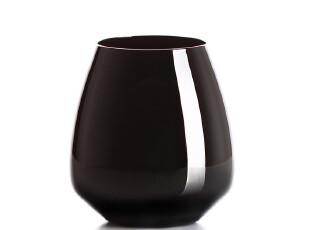 工作室新品 米兰水晶玻璃杯 黑色威士忌杯 长饮杯 单只价,杯子,
