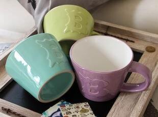 猪猪自留款: 待客理想物品——BIA卡哇伊3色杯组 出口 西餐餐具,杯子,