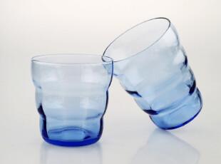 美璃【2只装套杯】手拉手情侣对杯/欧式彩色玻璃杯/创意...,杯子,