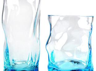 进口波米欧利 Bormioli波浪杯 玻璃杯子 创意时尚水杯 冷热饮杯,杯子,