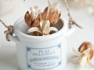 【11st】陶瓷白色法语双耳小奶杯 zakka日式杂货 拍摄道具,杯子,