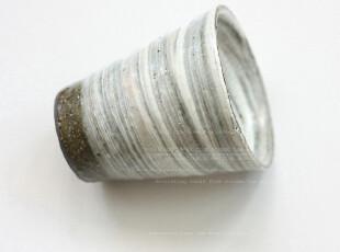 日本製   刷痕粗釉   手工杯,杯子,