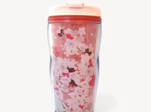 现货 星巴克 杯子 日本限定 2012年 樱花 随行杯 8oz,杯子,