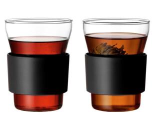 芬兰Iittala 火热冰霜杯 水杯/茶杯/咖啡杯对杯 黑色,杯子,