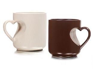 七夕情人节礼物限时限量供应 心形杯 對杯 马克杯 情侣杯,杯子,
