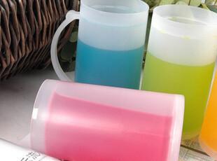 厂家直销五彩冰杯 夏日必备 冰冻口杯 饮料杯 水杯 啤酒杯 现货,杯子,