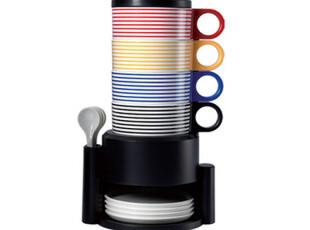 辰逸 彩虹套杯2代时尚创意个性 层叠咖啡杯 开心连环杯 层叠水杯,杯子,