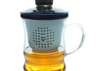 香港一园茶具 陶瓷茶杯 玻璃茶杯 办公水杯 竹韵 时尚杯,杯子,