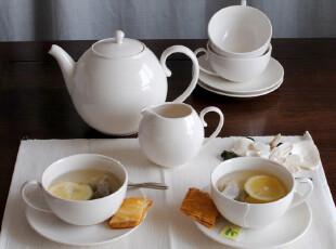 8月 外贸尾单 英国名品DENBY丹蓓下午茶咖啡套具壶杯碟10件套,杯子,
