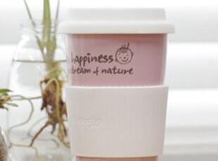 ★公主梦想★韩国家居*外卖咖啡风格*公主粉色随手杯 W1330,杯子,