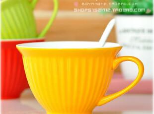 ◆限时促销 大号 陶瓷 糖果色 杯子 泡面碗杯 马克杯 冰淇淋碗杯,杯子,