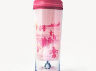 日本直送 星巴克starbucks2012夏限量游泳的企鹅随行杯295ml 现货,杯子,