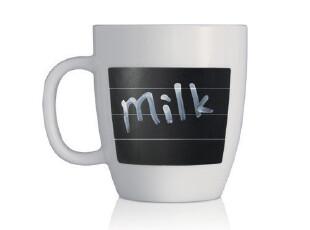 emoi基本生活 可书写陶瓷杯  咖啡杯 茶 水 杯 马克杯 H1044,杯子,