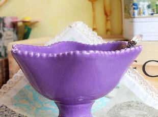 满150包邮 我爱葡萄 冰淇淋杯 外贸陶瓷,杯子,
