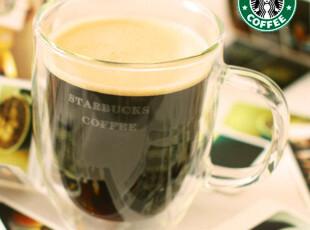 BODUM限量星巴克 透明马克杯 咖啡杯 玻璃杯水杯 双层杯,杯子,