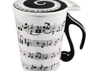 淘金币陶瓷/星巴克杯/创意音乐杯子/情侣对杯/卡通杯/音符杯特价,杯子,