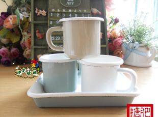 三皇冠 外销日本  G.T 高档搪瓷 espresso 卷边咖啡杯 儿童杯,杯子,