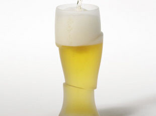 PO:SELECT 3D冰杯 啤酒杯/水杯/创意杯/玻璃杯 大号 单只 631,杯子,