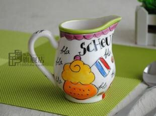 千度陶品*2012新款*奶杯*杯子*外贸陶瓷*出口餐具*荷兰Blond尾单,杯子,