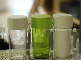 Fan's zakka杂货 带茶漏密封环保便携杯/随手杯/水杯 正品 360ml,杯子,