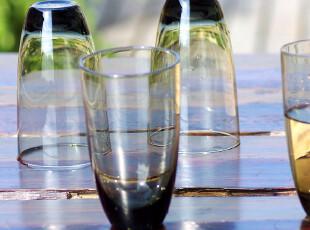 店庆8折/外贸大牌原单/洛基姆灰色水晶玻璃水杯果汁杯啤酒杯,杯子,