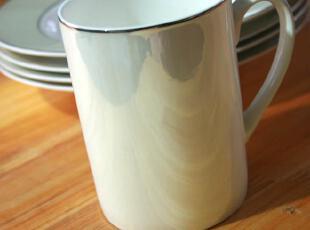 骨瓷新工艺 超眩 珍珠白 漆面效果 大容量马克杯 水杯 奶杯,杯子,