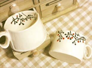 INCAFE|  小树陶瓷杯 陶瓷杯 不规则陶瓷杯 陶土杯 水杯 陶 杯子,杯子,