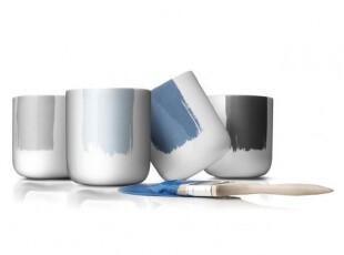 丹麦MENU 新标准彩绘装饰隔热杯四件套210ml 4531429独家首发,杯子,