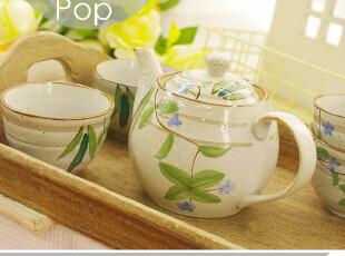 叶韵。和风冷水壶套装 一壶四杯 凉水壶水杯具 日本原单 家居陶瓷,杯子,