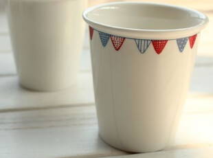 zakka杂货 印度风情随手小杯 办公室水杯 咖啡杯子 陶瓷情侣对杯,杯子,