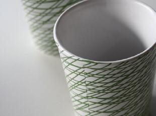 瑞典设计 宜家风格 AGG 艾吉 迷你杯 绿色 陶瓷杯水杯,杯子,
