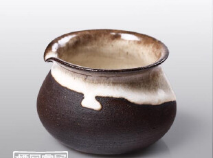 栖凤家居 纯手工功夫茶具 粗陶公杯.普洱茶器 茶杯 古瓷,杯子,