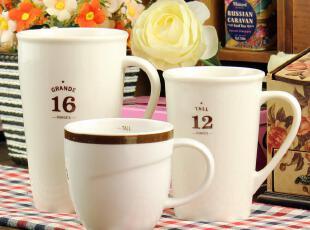 经典星巴克盎司杯 创意咖啡杯 陶瓷杯 情侣杯 马克杯 zakka水杯,杯子,
