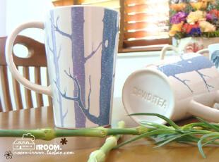 美丽说推荐 DAVID 树 创意 杯子 陶瓷马克杯/咖啡杯/早餐杯/茶杯,杯子,
