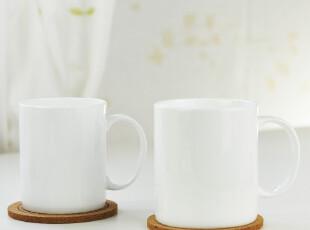 真骨瓷纯白咖啡杯,牛奶杯,水杯——白色简单(经典款),杯子,