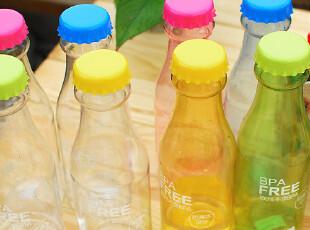 bianli 创意瓶防漏莹彩防摔 可乐|汽水瓶情侣随心杯 炫彩个性水杯,杯子,
