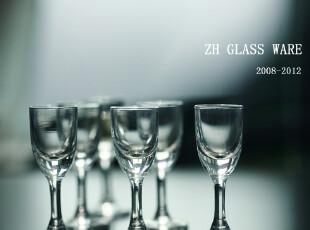 买五赠一!白酒杯烈酒杯子【MK18小高脚吞杯酒杯】玻璃杯套装/,杯子,