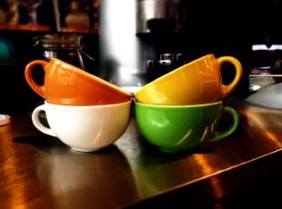 外贸陶瓷餐具新加坡卡布基诺咖啡杯/牛奶杯/马克杯/欧式杯,杯子,