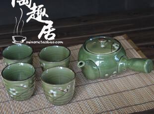 【微瑕特价】韩式陶瓷套装茶具 一壶四杯 韩单陶瓷,杯子,