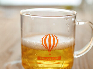 zaa杂啊 透明玻璃杯子 zakka水杯牛奶杯 可爱奶茶杯早操饮料杯,杯子,