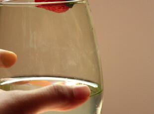 乐逗手工清凉一夏 绿色鹅卵石水杯 透明玻璃杯子 奶昔杯 果汁杯,杯子,