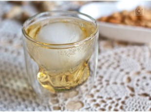 出口欧洲高硼硅玻璃水啤酒冷饮杯 双层隔热 岩石杯,杯子,