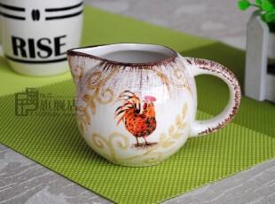 千度陶品*孤品*奶杯*杯子*出口餐具*外贸陶瓷*外单样品,杯子,