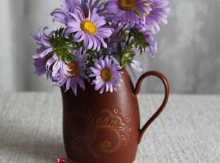 一鸿艺居 陶瓷餐具美国200年Pfaltzgraff往昔 牛奶杯奶杯 0.31kg,杯子,