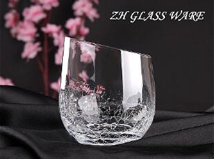 中恒器皿 酒杯 威士忌杯【CH-922冰裂纹饮料杯】玻璃杯/水杯/,杯子,